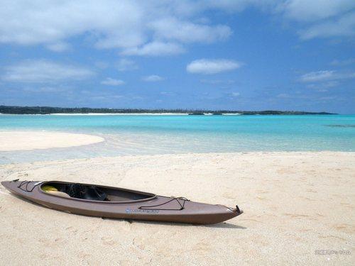 与論島の幻の浜「百合ヶ浜」への2kmを満喫!カヌーで楽しむ綺麗すぎる海